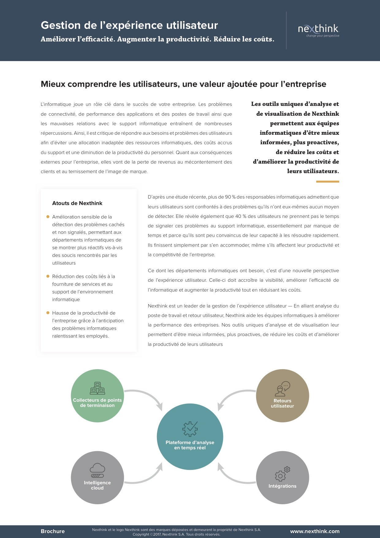 Brochure Nexthink