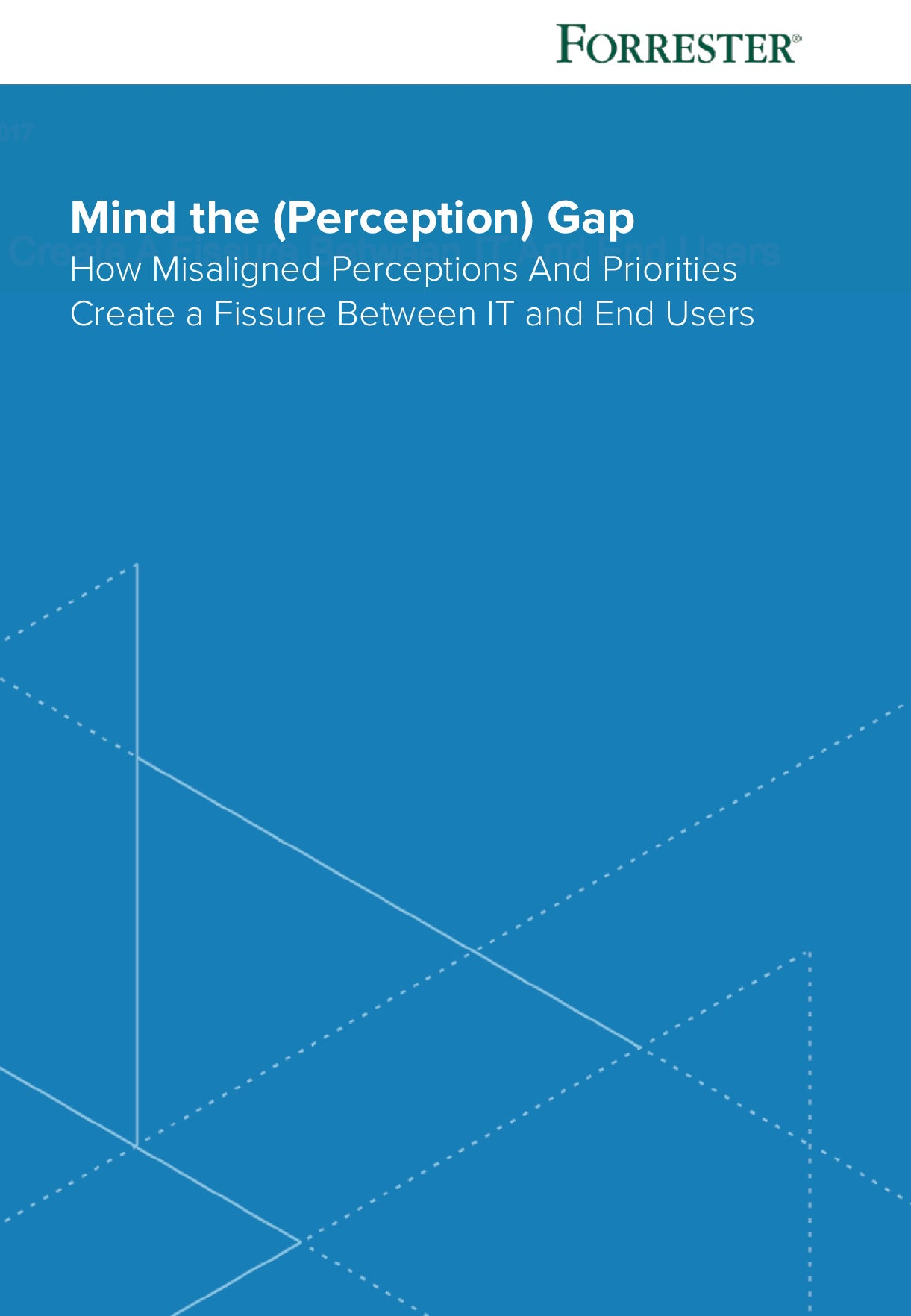 Forrester Mind The (Perception) Gap