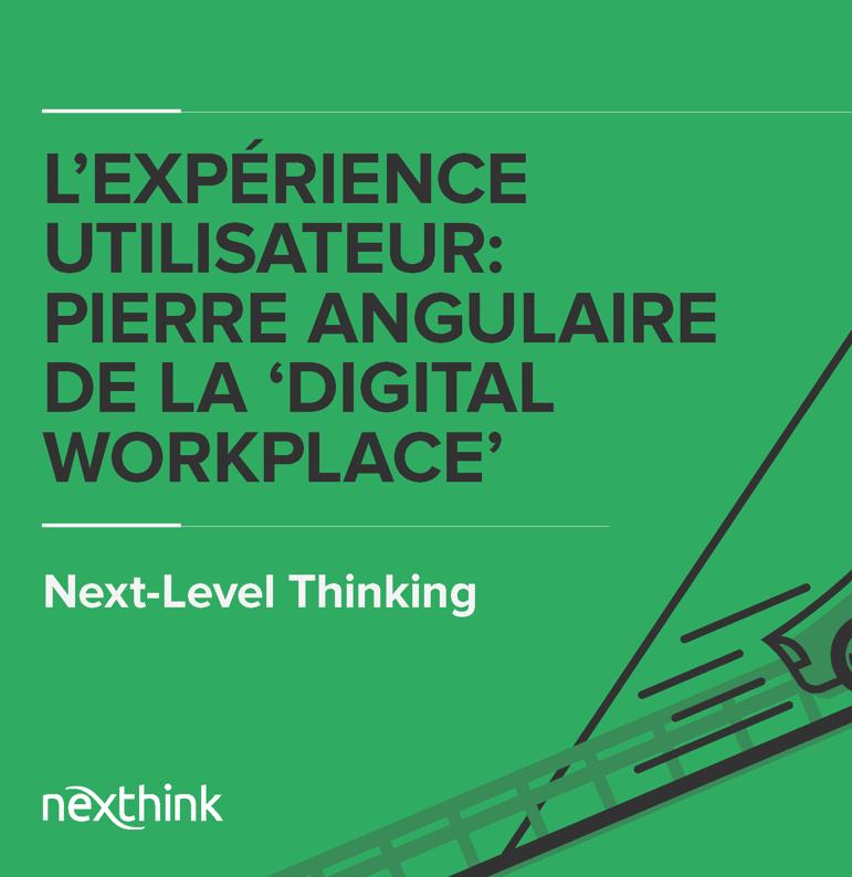 L'Expérience Utilisateur : Pierre Angulaire de la 'Digital Workplace'