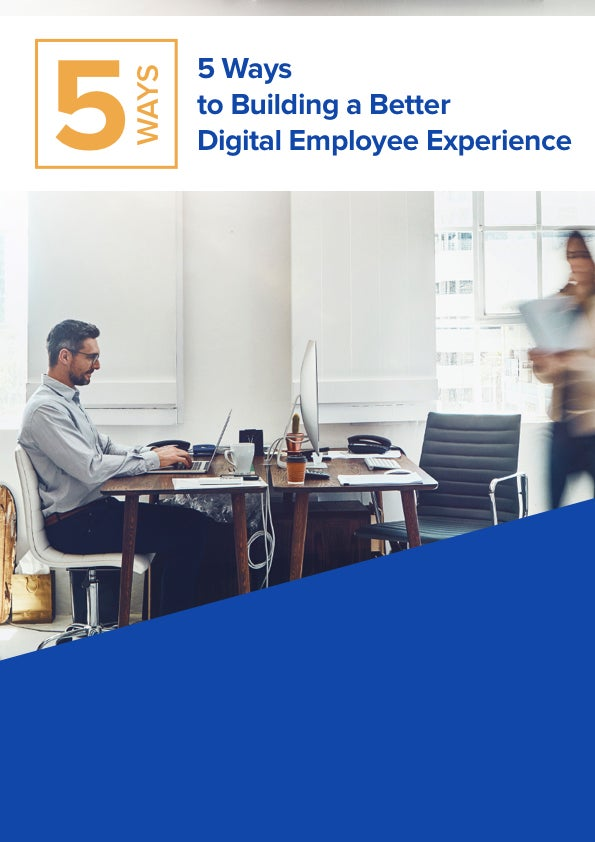 5 Ways Employee Experience will Transform the Way You do IT