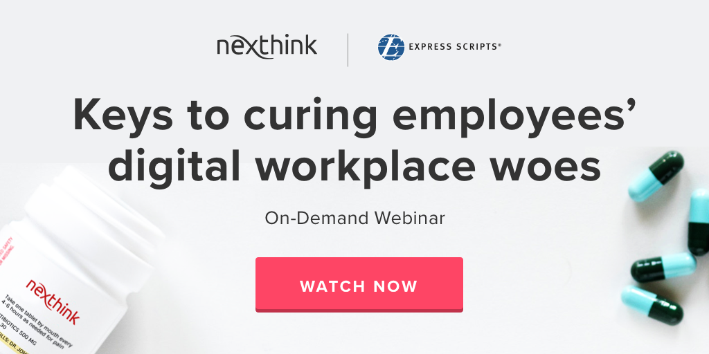 Proactive IT Webinar: Keys to curing your employees' digital workplace woes