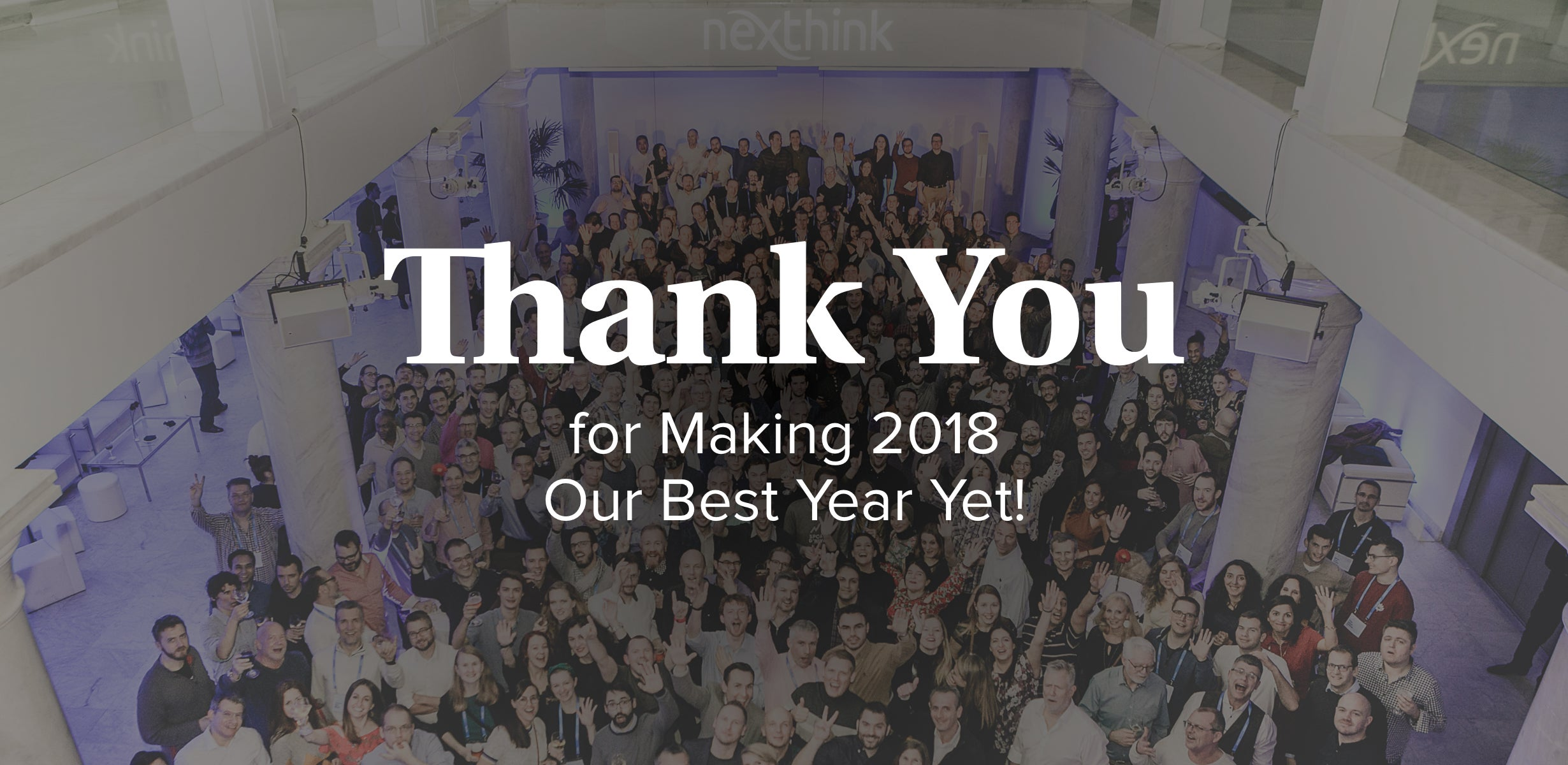 Thank You for Making 2018 Our Best Year Yet!
