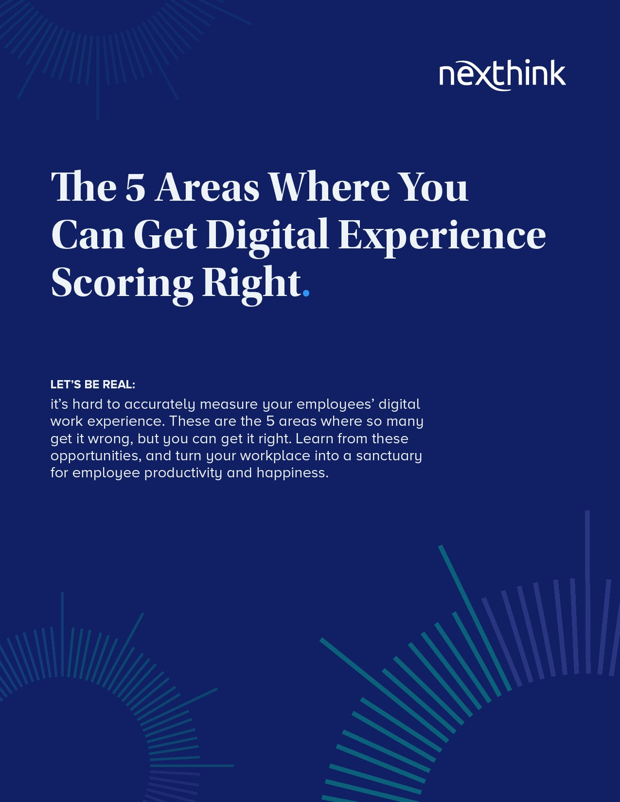 The 5 Areas Where You Can Get Digital Experience Scoring Right
