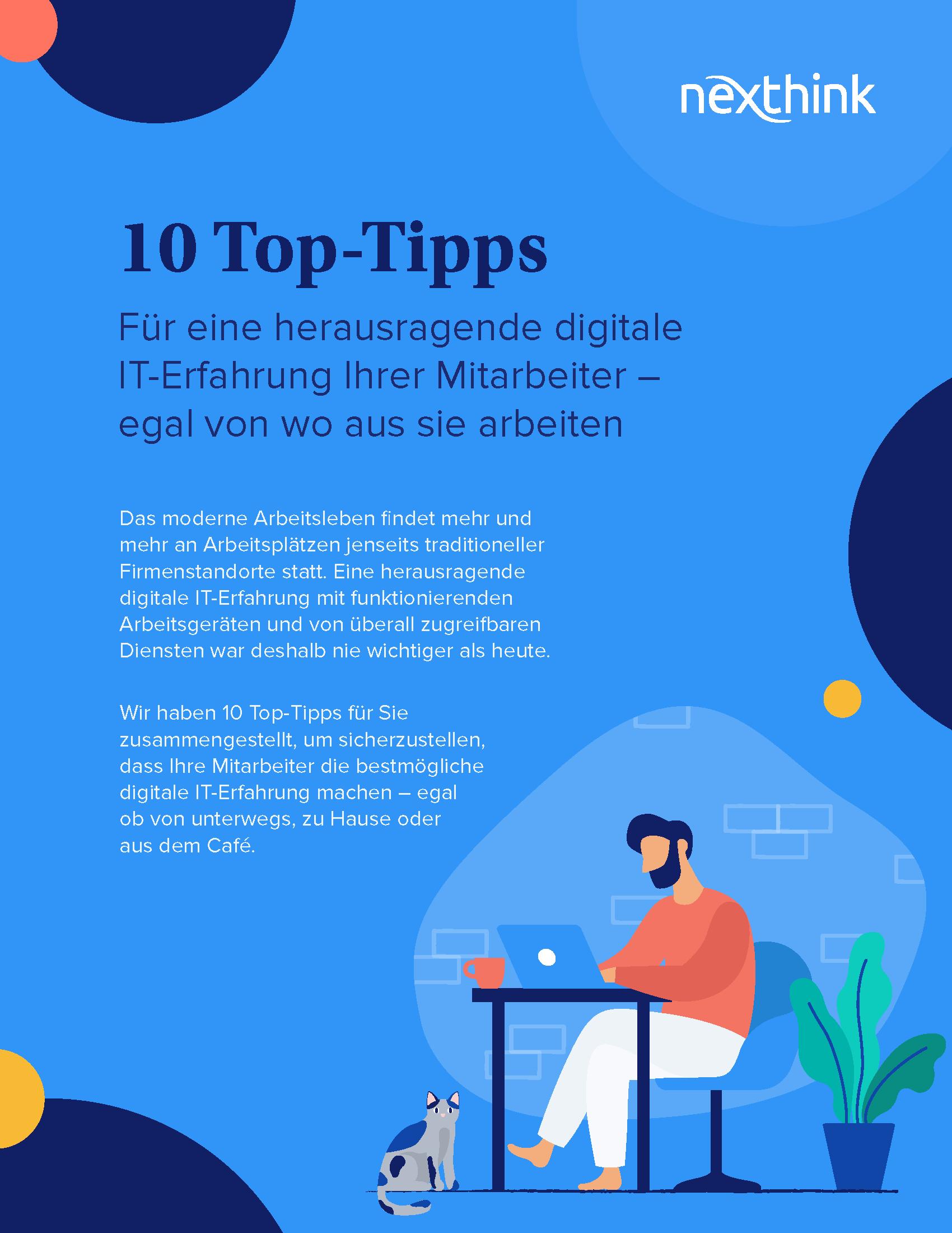 10 Top-Tipps für eine herausragende digitale IT-Erfahrung Ihrer Mitarbeiter