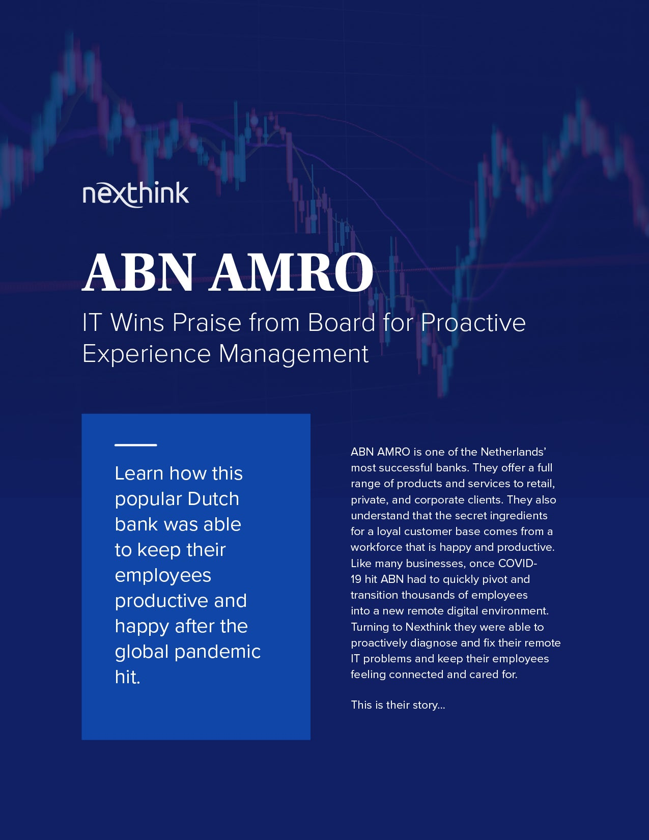 ABN AMRO: Proactive Experience Management