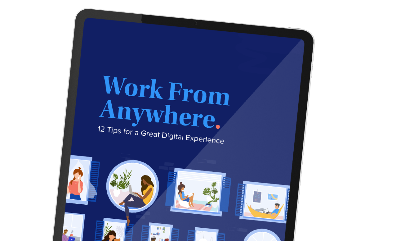 Learn how IT can support the often tricky hybrid work model to delight employees from anywhere.