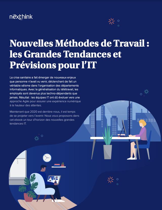 Nouvelles Méthodes de Travail : les Grandes Tendances et Prévisions pour l'IT